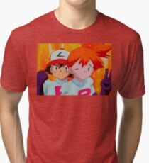 Team Rocket secret members Tri-blend T-Shirt