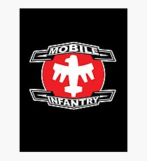 Mobile Infantry Photographic Print