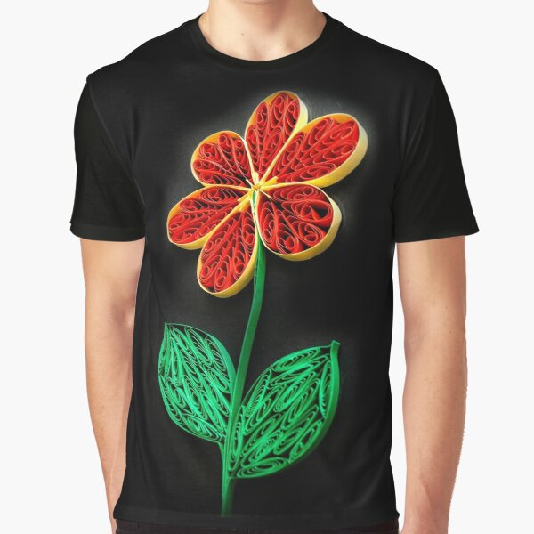 Big Flower  Graphic T-Shirt