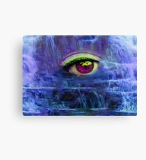 Waterfall Tears Canvas Print