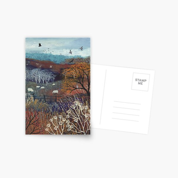Colours of Autumn Postcard