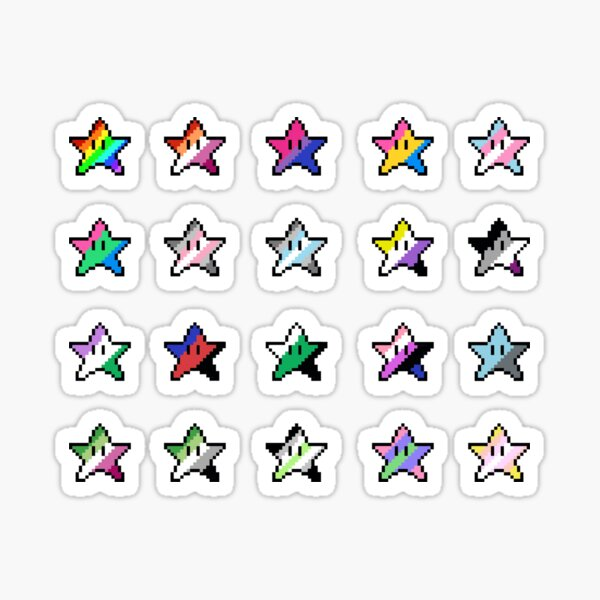 Pride star mega pack! Sticker