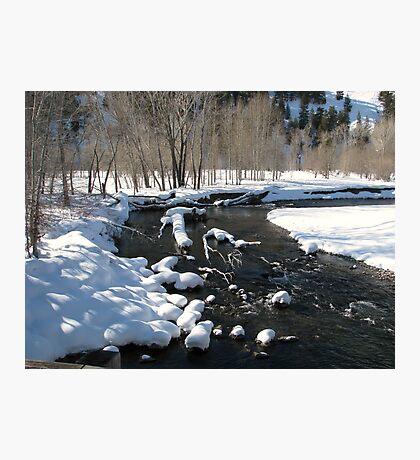 Little Big Wood River, Ketchum, Idaho; USA Photographic Print