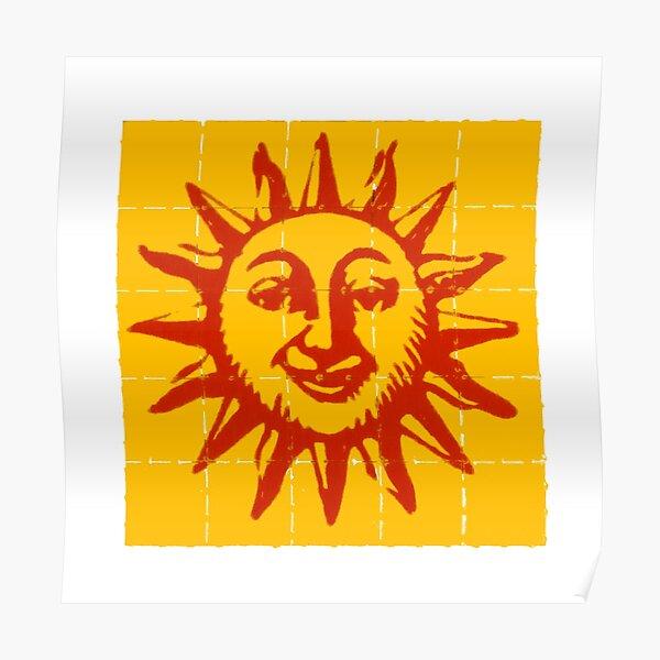 Orange Sunshine Poster