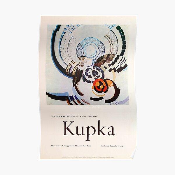 Frank Kupka Exhibition poster 1975 Poster