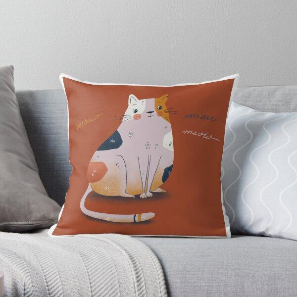 Cat Red Dekokissen