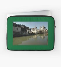 Indres River Reflections, Loches, France 2012 Laptop Sleeve