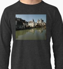 Indres River Reflections, Loches, France 2012 Lightweight Sweatshirt