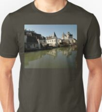 Indres River Reflections, Loches, France 2012 T-Shirt