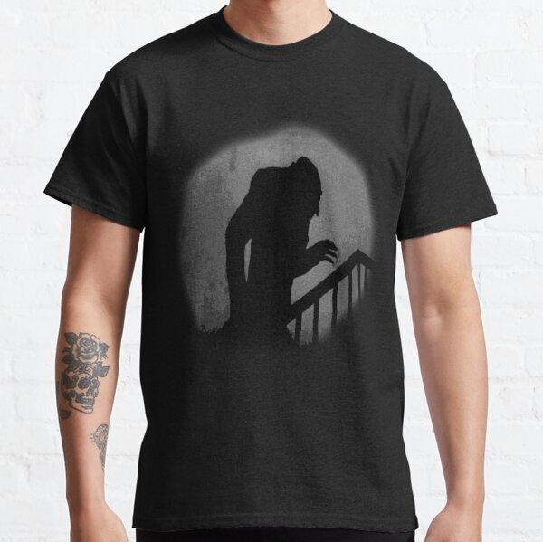 Silueta nosferatu Camiseta clásica