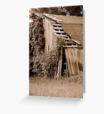 Reclaimed Greeting Card