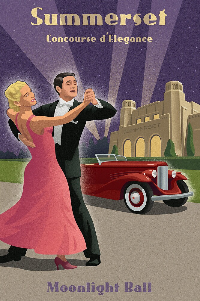 Vintage Dance and Car Show by mitchfrey