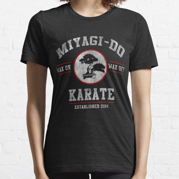 Miyagi Do Karate Kid Wax On Wax Off T-shirt essentiel