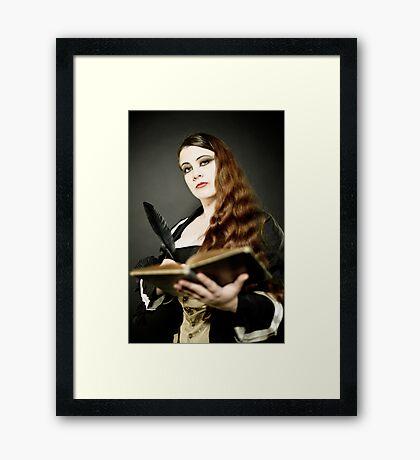 La Belle Dame Framed Print