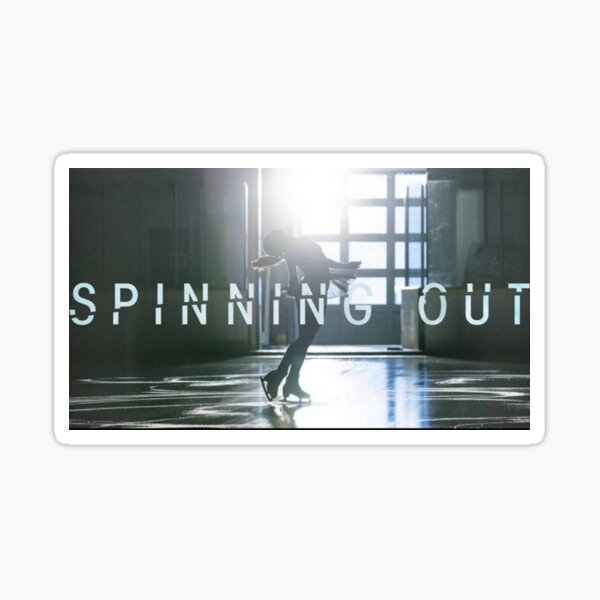 Spinning Out IV Sticker