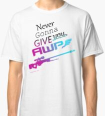 Counter-Strike    Never Gonna Give You AWP Classic T-Shirt