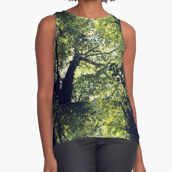 Woodland canopy Sleeveless Top