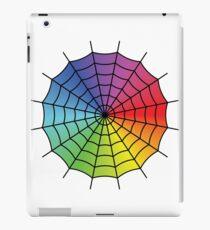Spider Web - Color Spectrum iPad Case/Skin