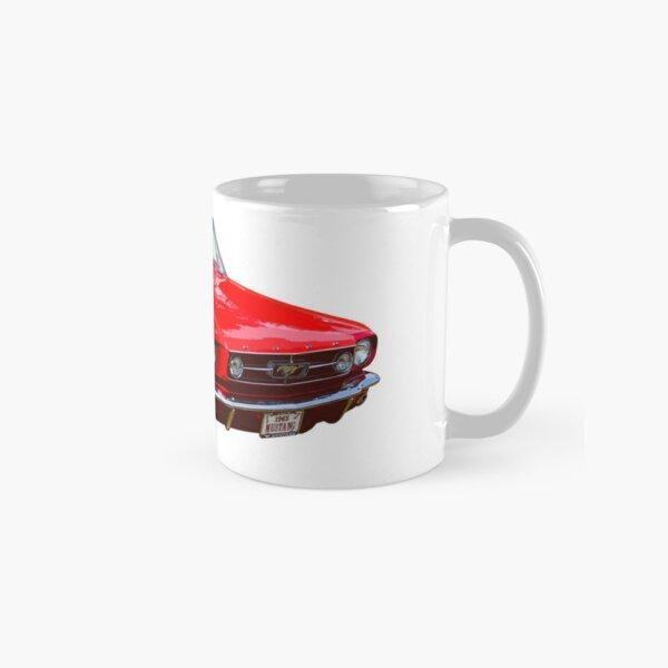 1965 Red Ford Mustang Convertible Classic Mug