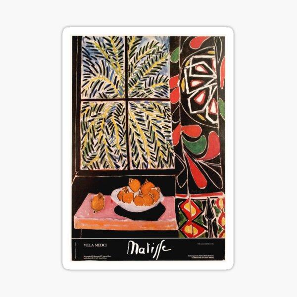 Matisse Exhibition poster 1979 Sticker