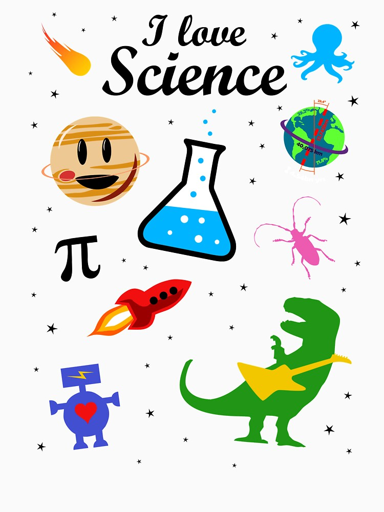 Amo la ciencia (versión negra) de jezkemp