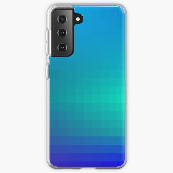 Blue Seagreen Ombre Samsung Galaxy Soft Case