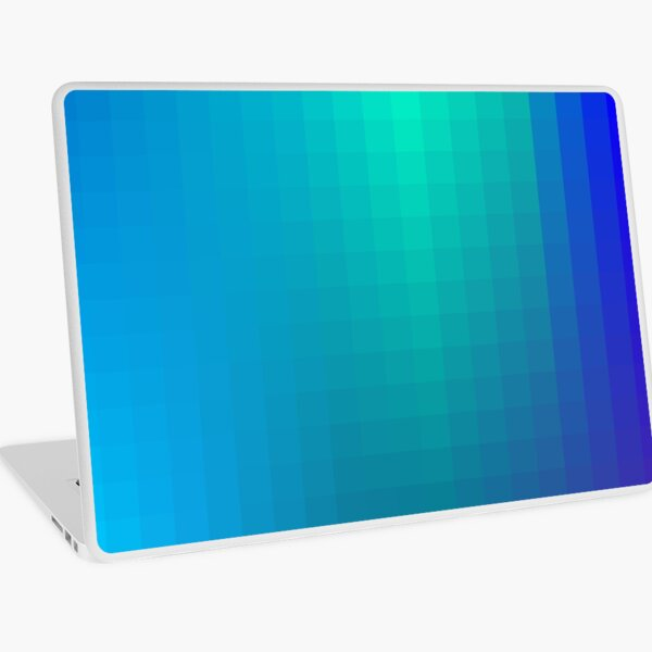 Blue Seagreen Ombre Laptop Skin