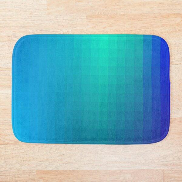 Blue Seagreen Ombre Bath Mat