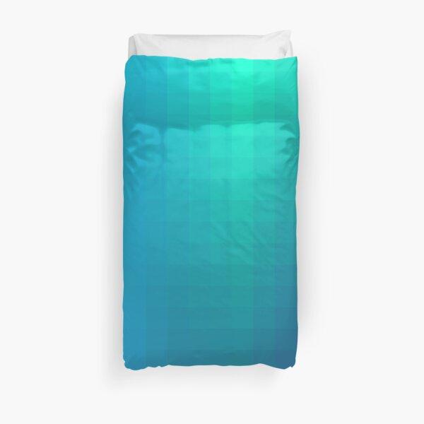 Blue Seagreen Ombre Duvet Cover