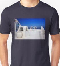 Have a seat at Firostefani - Santorini island T-Shirt