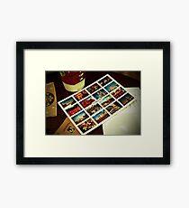 London Icons Framed Print