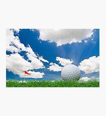 golf fairway Photographic Print