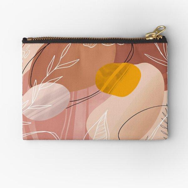 Abstract Peach Täschchen