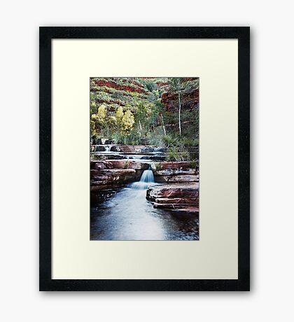 Dales Gorge(cal) Framed Print