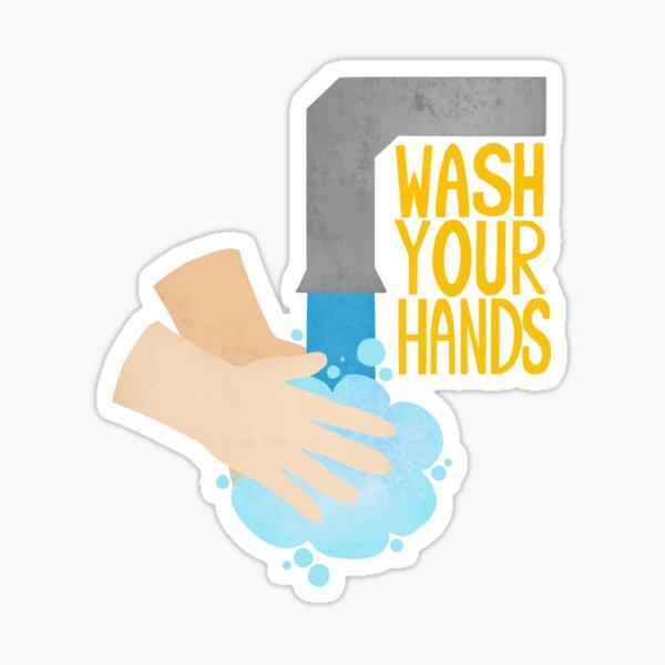Wash Your Hands! (Sink) Sticker