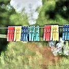 Happy pegs by Fiona Mouzakitis