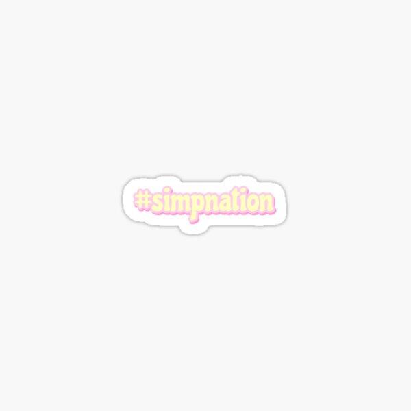 simpnation Sticker
