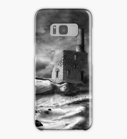 Cornish engine house Samsung Galaxy Case/Skin