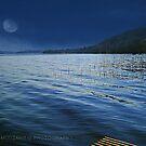 Twilight lake by Fiona Mouzakitis