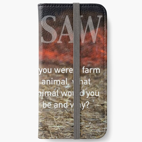 If You Were A Farm Animal iPhone Wallet