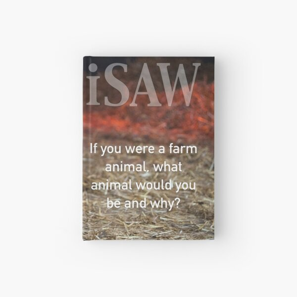If You Were A Farm Animal Hardcover Journal