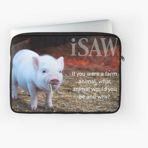 If You Were A Farm Animal Laptop Sleeve