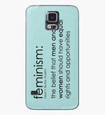The true definition of feminism - blue Case/Skin for Samsung Galaxy