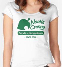 NOOK'S CRANNY Women's Fitted Scoop T-Shirt