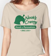 NOOK'S CRANNY Women's Relaxed Fit T-Shirt