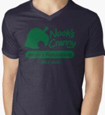 NOOK'S CRANNY Mens V-Neck T-Shirt