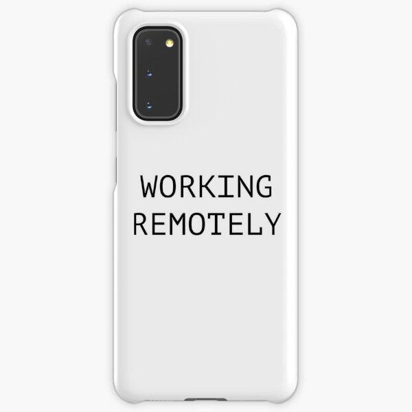 Working Remotely Samsung Galaxy Snap Case