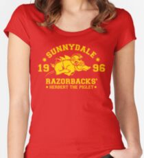 Sunnydale Herbert Women's Fitted Scoop T-Shirt