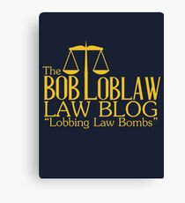 The Bob Loblaw Low Blog Canvas Print