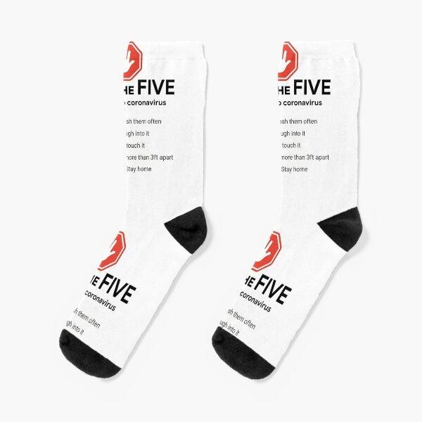 DO the Five. Help Stop #Coronavirus Socks